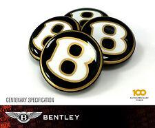 Bentley Centenary Center Centre Caps Cap Schwarz Gold bentayga GT GTC SPUR