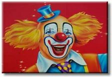 Children's Favorite Clown Lovely Picture on Stretched Canvas, Wall Art Décor, Re