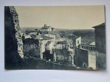 CASTROVILLARI vecchio e santuario Madonna del Castello Cosenza vecchia cartolina