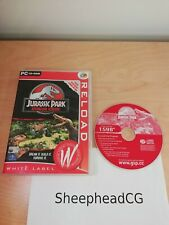 Jurassic Park Operation Genesis PC - Tested & Working - VGC - Fast Postage!