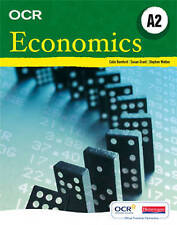 OCR A Level Economics Student Book (A2) by Pearson Education Limited (Paperback…