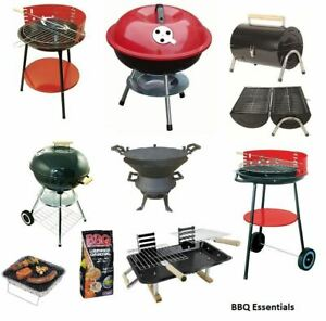 OUTDOOR BBQ GARDEN DISPOSABLE CHARCOAL PATIO PARTY COOKING GRILL PIT BARBECUE