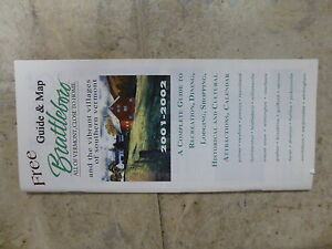 Old Road Map - Brattleboro, Vermont - Main St. Comm. - 2001 - Good Condition