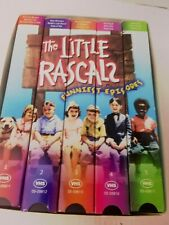 The Little Rascals Funniest Episodes Boxed Collector Set of 5 Vhs Tapes