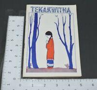 Kateri Tekakwitha 1941 Booklet Lily Of The Mohawks Native Americana Religious