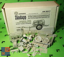 "1/35. ""Zundapp"" 7,5 kVA Stromaggregat resin kit, by ""Leadwarrior""  LW 35217"