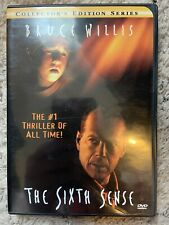The Sixth Sense (DVD, 2000 Collectors Series) Willis Osment Collette Dead People