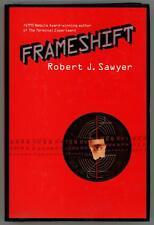 Frameshift by Robert J. Sawyer First Edition Signed- High Grade