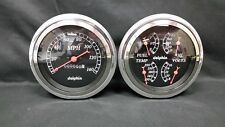 """1947 1948 1949 1950 1951 1952 1953 CHEVY TRUCK CLUSTER BLACK 5"""""""