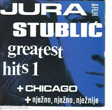 Jura stublic & Film CD GREATEST HITS 1 Chicago njezno njeznije Hrvatska CROAZIA