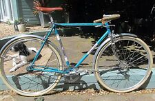 Lovely retro aqua Carlton Corsa single speed porteur urban fixie road bicycle