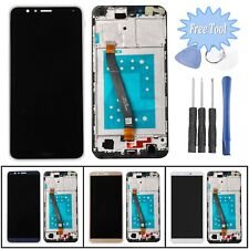 Replacement LCD Display Glass Touch Screen Digitizer + Frame For Huawei Honor 7X