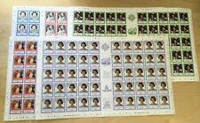 SPECIAL LOT Falkland Islands 1986 441-5 - QE2 B'day- 50 Sets of 5v - MNH Sheets