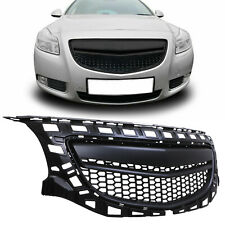 BLACK BADGELESS DEBADGED FRONT GRILL GRILLE FOR VAUXHALL OPEL INSIGNIA OPC 08-13