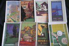 More details for 41  london transport museum original postcards of tram /bus posters