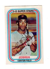 1976 KELLOGG'S 3-D SUPER STAR  Baseball Card VON EVERETT JOSHUA
