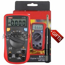 UNI-T UT136B Digital Multimeter DC/AC V/A Cap Frequency Res Diode Tester + TL-1