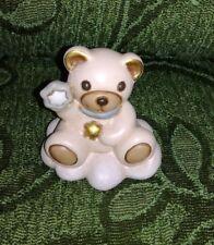 Thun orsetto Teddy su nuvola celeste bimbo collezione statuina
