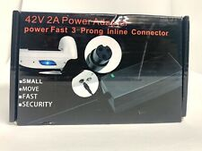 Evaplus 42V 2A Power Adapter PowerFast 3-Prong Inline Connector for Pocket Mod O