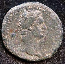 "Ancient Roman Coin "" Trajan "" 97 - 117 A.D. REF# S908 28 mm Diameter"