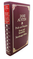 Jane Austen PRIDE AND PREJUDICE, SENSE AND SENSIBILITY, NORTHANGER ABBEY