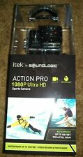 Itek Action Pro 1080P Ultra HD Sports Cam Camera w/ Mounting Accessories