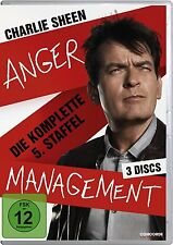 Anger Management , Charlie Sheen  season 5 final DVD Region 2/UK TV Series