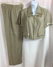 Miss Scarlett Ladies Pants Suit Size 6, Dry-Cleaning Tags Attached, Made USA-