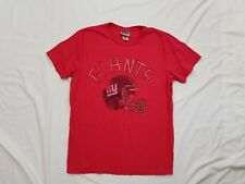 Junk Food NFL Football NY Giants Red Short Sleeve T-Shirt Size Small S