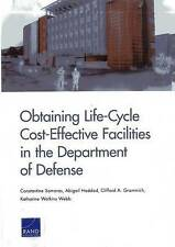 NEW Obtaining Life-Cycle Cost-Effective Facilities in the Department of Defense