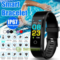 Smart Band Watch Body Thermometer Temperature Heart Rate Monitor Fitness Tracker
