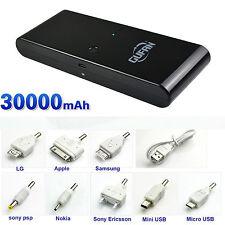 30000mAh Externer USB Ladegerät Smartphone Power Bank Zusatzakku Batterie Akku