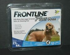 Frontline Plus for Medium Dogs (23-44 lbs) Flea and Tick Treatment, 3 Doses