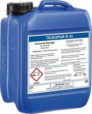 TICKOPUR R33 - 5L Universeel ultrasoon reiniger vloeistof | Diverse toepassingen