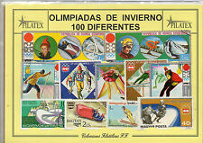The global sports winter olympics 100 different values (cp-497)