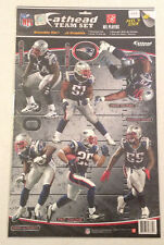 Patriots FATHEAD 2011 NFL Team Set Wilfork Pat Chung Devin McCourty Jerod Mayo