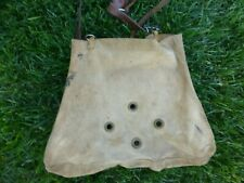 Vintage George Lawerence Game Bag Fishing Creel Portland Oregon Leather Strap