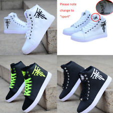 Men's High-top Sneakers Shoes Korean Casual Sneakers Trainers Leisure Shoes