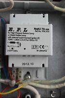 E.P.L. NaHJ70.320 magnetic ballast for 70w sodium HPS metal halide HID bulb