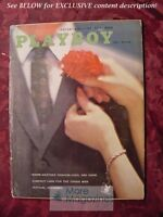 PLAYBOY May 1960 GINGER YOUNG ARTHUR C. CLARKE CANNES FILM FESTIVAL