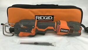 Ridgid R3031 Thru Cool 6 Amp Fuego Orbital Reciprocating Saw, G
