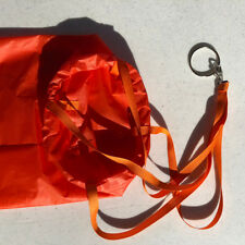 Bright Orange 5' Windsock for Paragliding and Paramotoring (PPG)