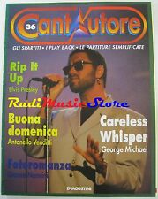Cantautore 36 GEORGE MICHAEL ELVIS PRESLEY VENDITTI NANNINI no cd lp dvd mc