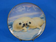 """Franklin Mint """"Happy Together"""" Limited Edition Plate by Wepplo"""