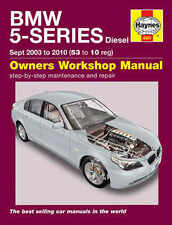 Haynes Service & Repair Manual BMW 5-series 2003 - 2010 Diesel 4901