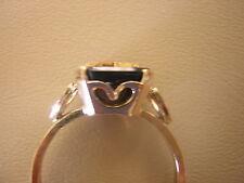 Heart Black Onyx RING 10k GF 3 4 5 7 8 9 10 11 12 Mason EASTERN STAR Women's !!!