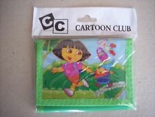 Cartoon Club Dora The Explorer Childrens Wallet Green