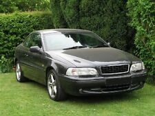 EGGCRATE Mesh Grill Grille ALL BLACK + CHROME CLASSY EURO LOOK for VOLVO S70 V70