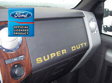 2008 Ford F250 Super Duty Dash Board Letter Insert Set