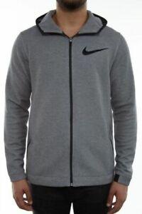Nike Dry Showtime Full Zip Hoodie Jacket Men's Size XL  Grey
